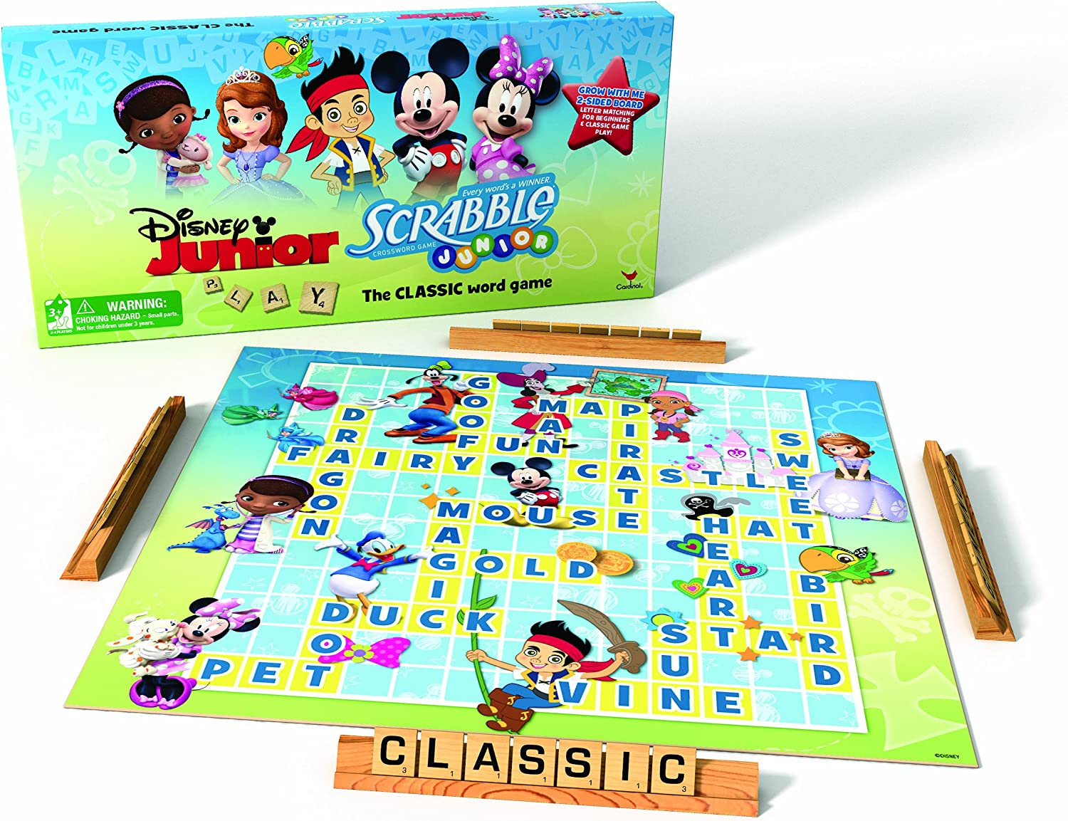 Disney Junior Scrabble Game: Amazon.es: Juguetes y juegos
