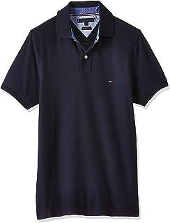 Tommy Hilfiger Piqué P Camiseta Polo con Cierre de 3 Botones para Hombre: Amazon.es: Ropa y accesorios