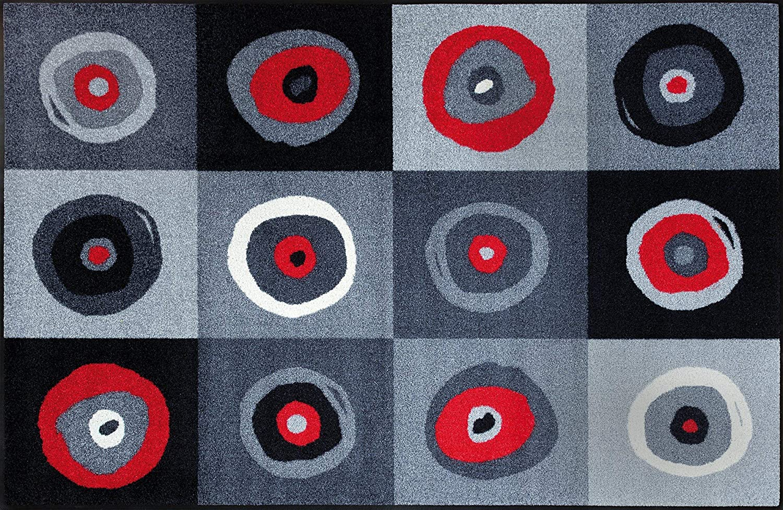 Wash+dry Fußmatte Sergej Grau 115x175 cm