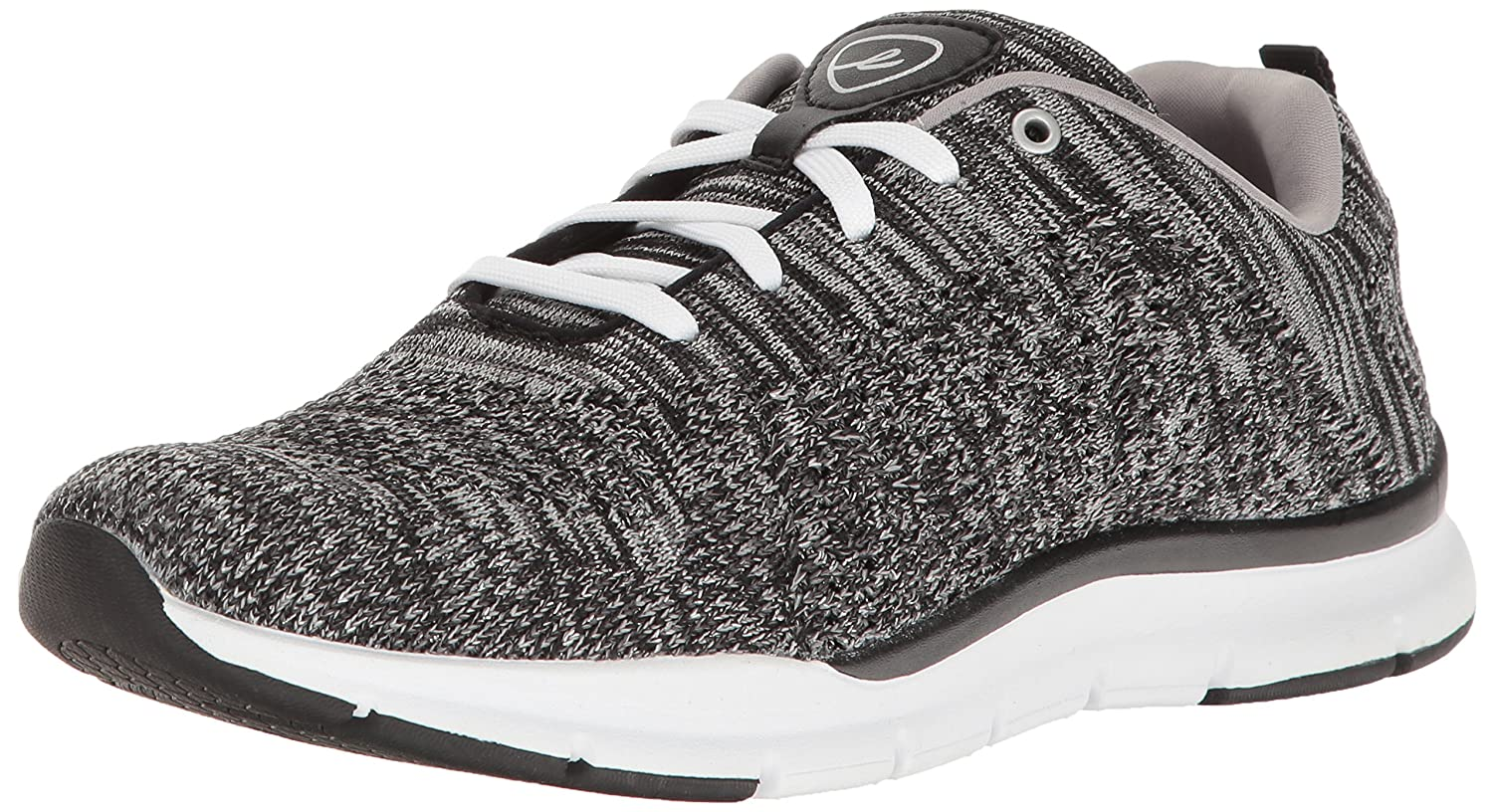 Easy Spirit Women's Ferran2 Fashion Sneaker B01N0EH7VC 8 W US|Black/Multi Fabric
