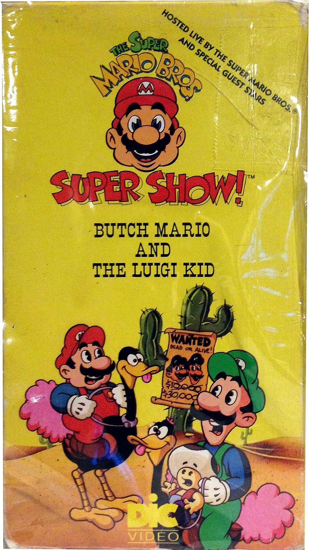 Amazon Com The Super Mario Bros Super Show Butch Mario And The