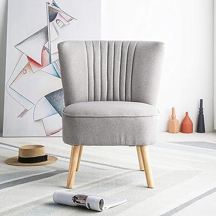 Harrogate - Sillón de tela para salón, recámara, color gris ...
