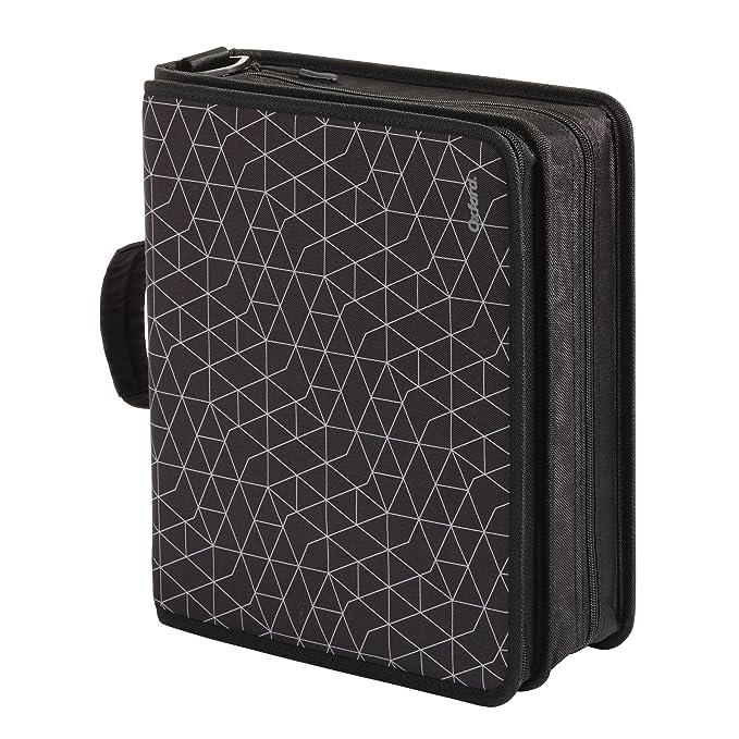 Amazon.com: Oxford - Carpeta con cremallera y almacenamiento ...