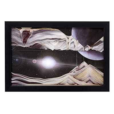 Rainbow Vision Sand Picture -- Medium Size Outer Space: Home & Kitchen