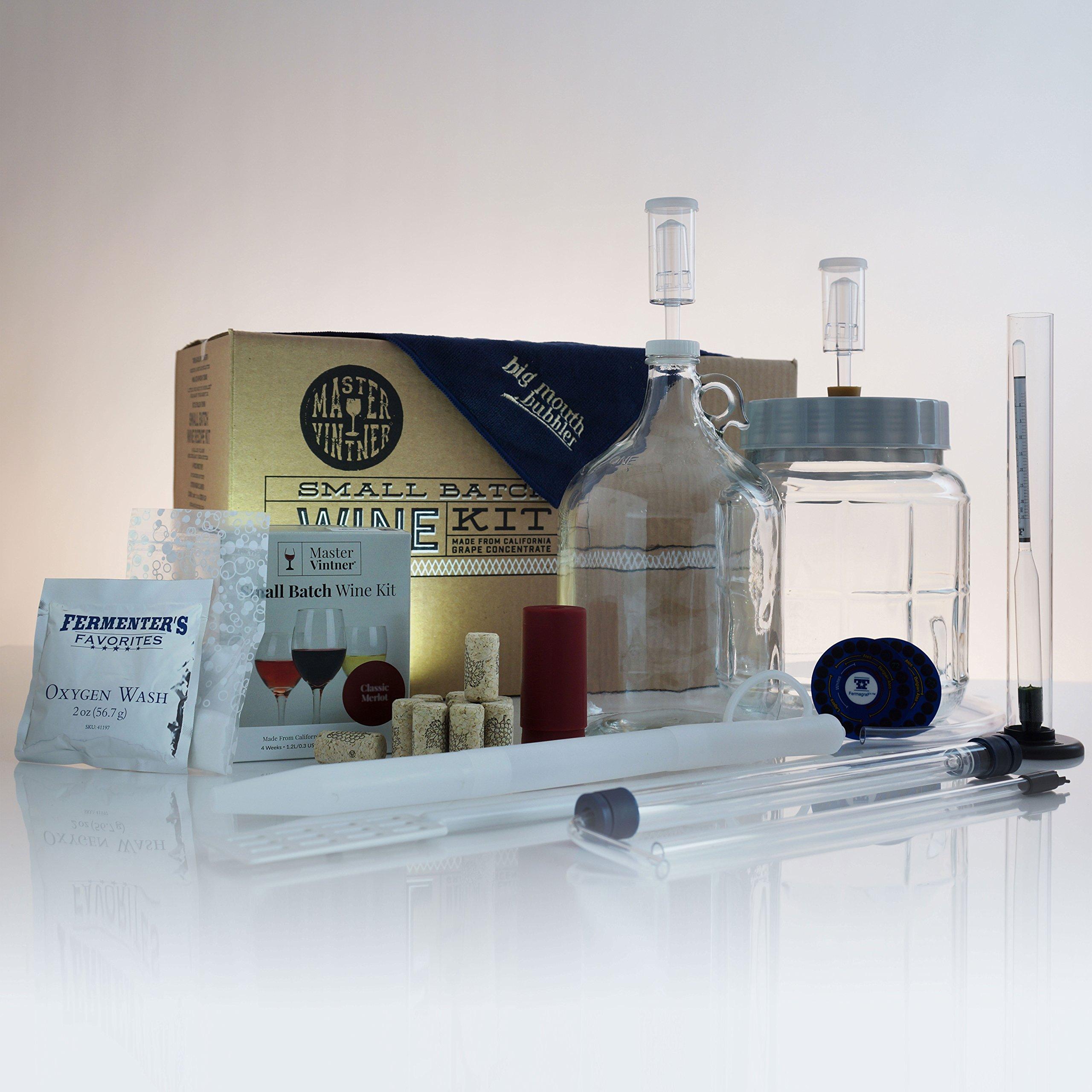 Master Vintner Small Batch Wine Starter Kits (Cabernet Sauvignon)