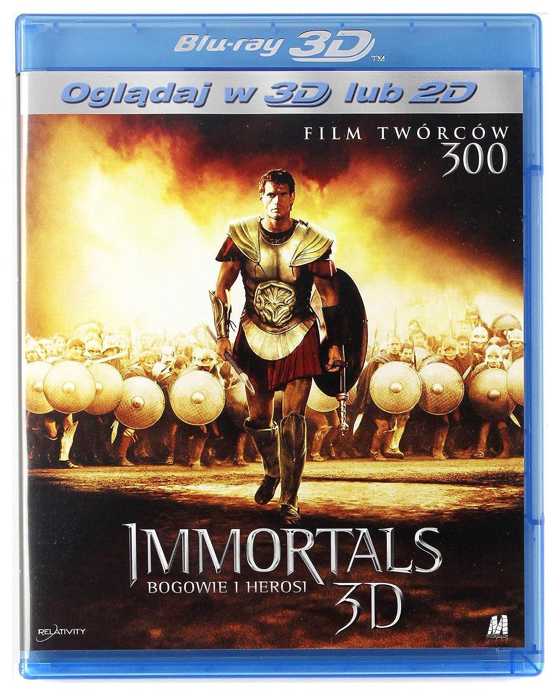 Immortals Blu-Ray 3D Region Free IMPORT No hay versión ...