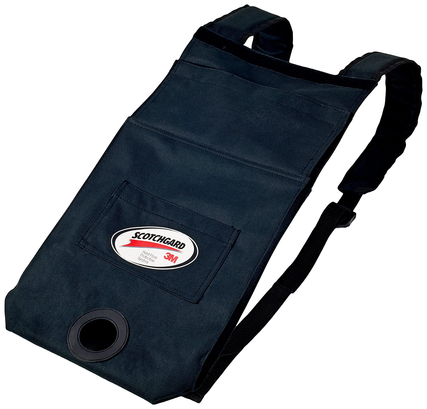 Holds up to 1 1//2 Gallons of Floor Finish 3M Easy Shine Canvas Backpack Protector or Cleaning Chemicals