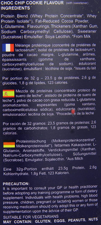 Amazon.com: Garnell Nutrition HighPerformance Whey Choc Chip ...
