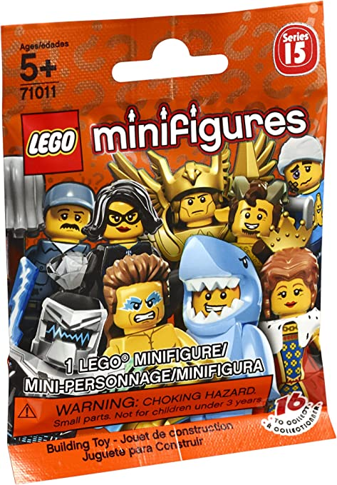 Kendo Fighter Minifigure Lego 71011 Series 15 New in package !!!