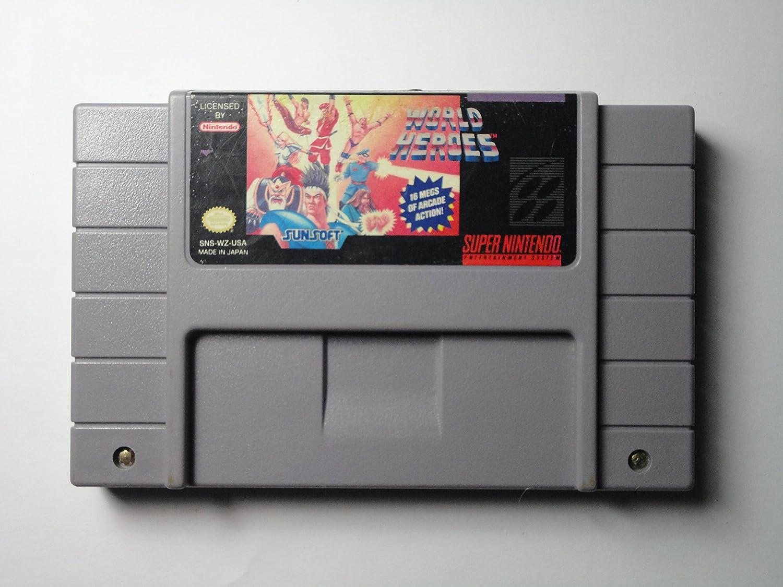 World Heroes - Nintendo Super NES