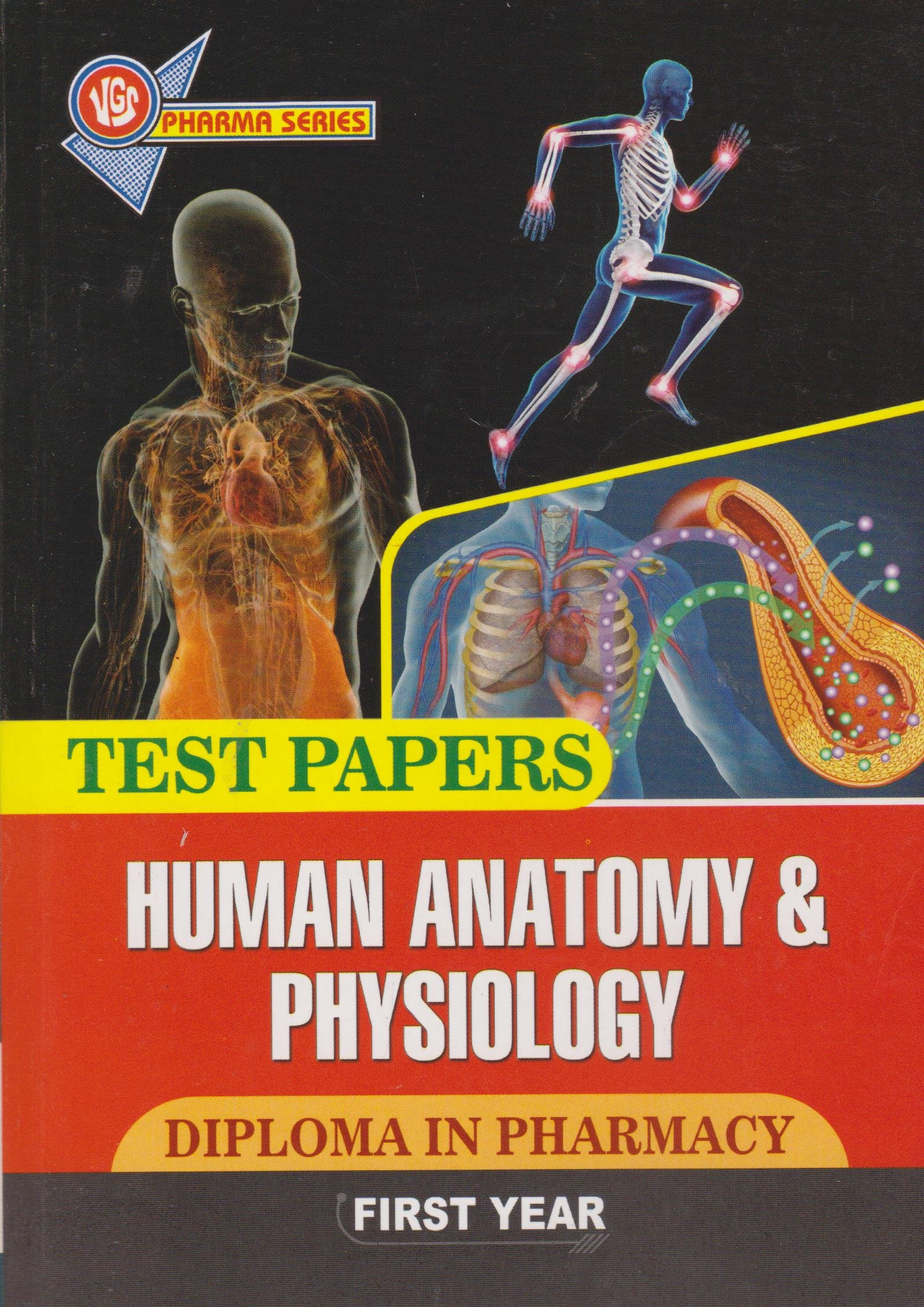 Amazon.in: Buy Human Anatomy & Physiology Diploma In Pharmacy First ...