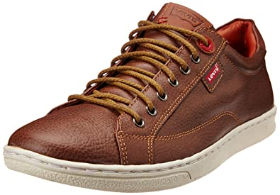 Levis Men's Tulare Low Lace Brown Sneakers ...