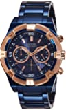 Guess Chronograph Blue Dial Men's Watch - W0377G4