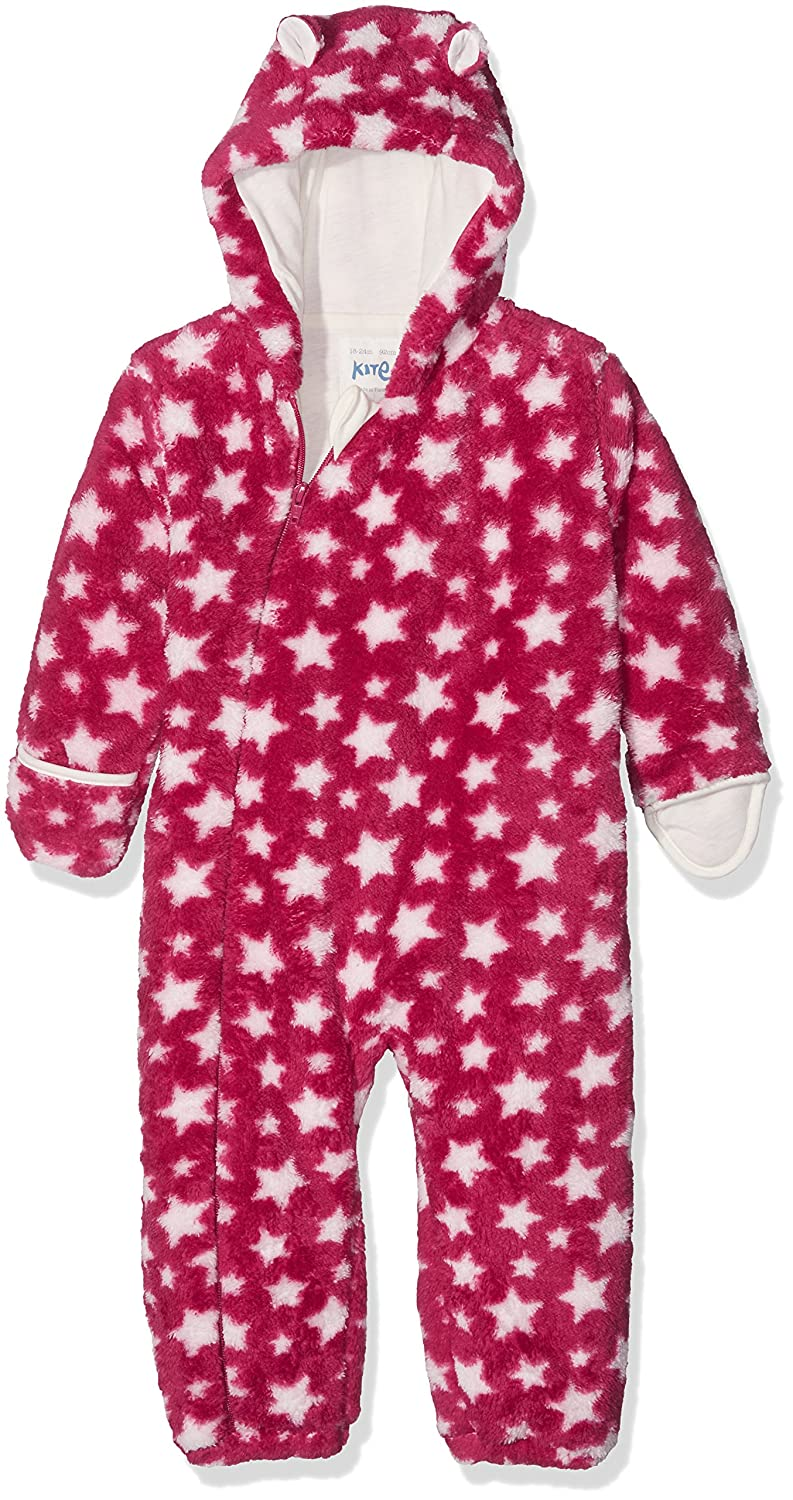 Kite Baby Girls' Star Fleece All-in-One Snowsuit BG577