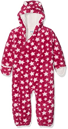 1e30392a6 Kite Baby Girls' Star Fleece All-in-one Snowsuit: Amazon.co.uk: Clothing