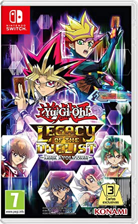 Yu-Gi-Oh! Legacy of the Duelist: Link Evolution Switch: Amazon.es ...
