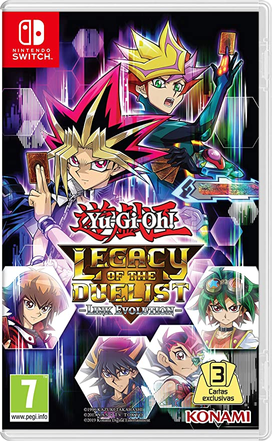 Yu-Gi-Oh! Legacy of the Duelist: Link Evolution Switch: Amazon.es: Videojuegos