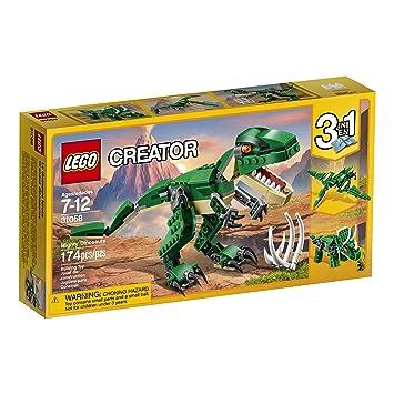 Amazon.com: LEGO Creator Mighty Dinosaurs 31058 Dinosaur toy: Toys ...