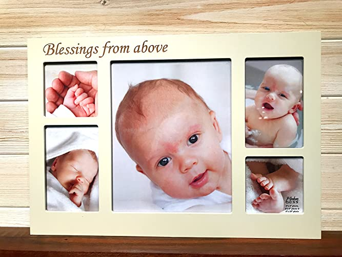 amazon com baby collage frame laser engraved personalized custom