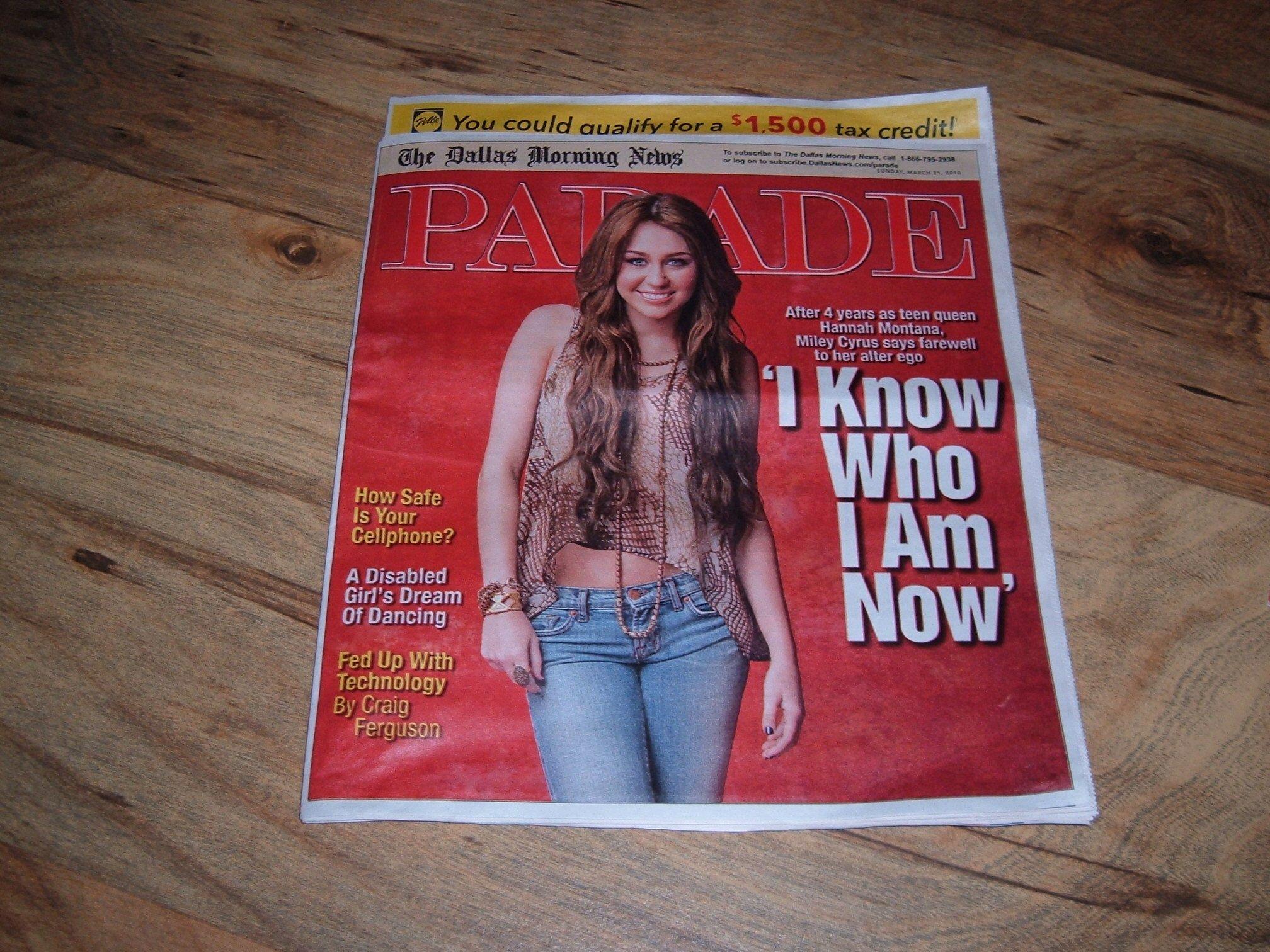 Parade Magazine (Parade newspaper insert from the Lexington