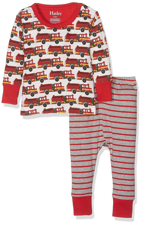 Hatley Baby-Jungen Zweiteiliger Schlafanzug Mini Pyjama Set