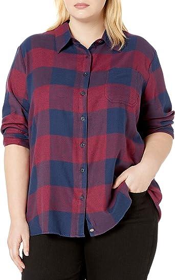 Dickies Camisa de franela de manga larga para mujer - Multi - XL: Amazon.es: Ropa y accesorios