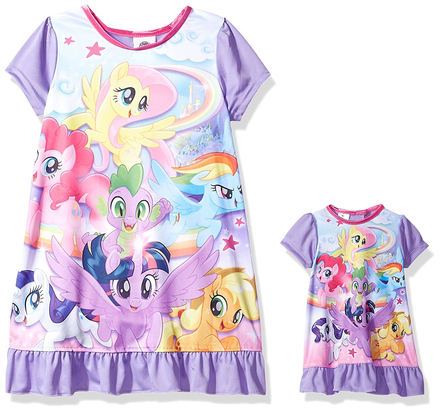 My Little Pony Girls Girls' Magical Nightgown 21ML044GDLDZ