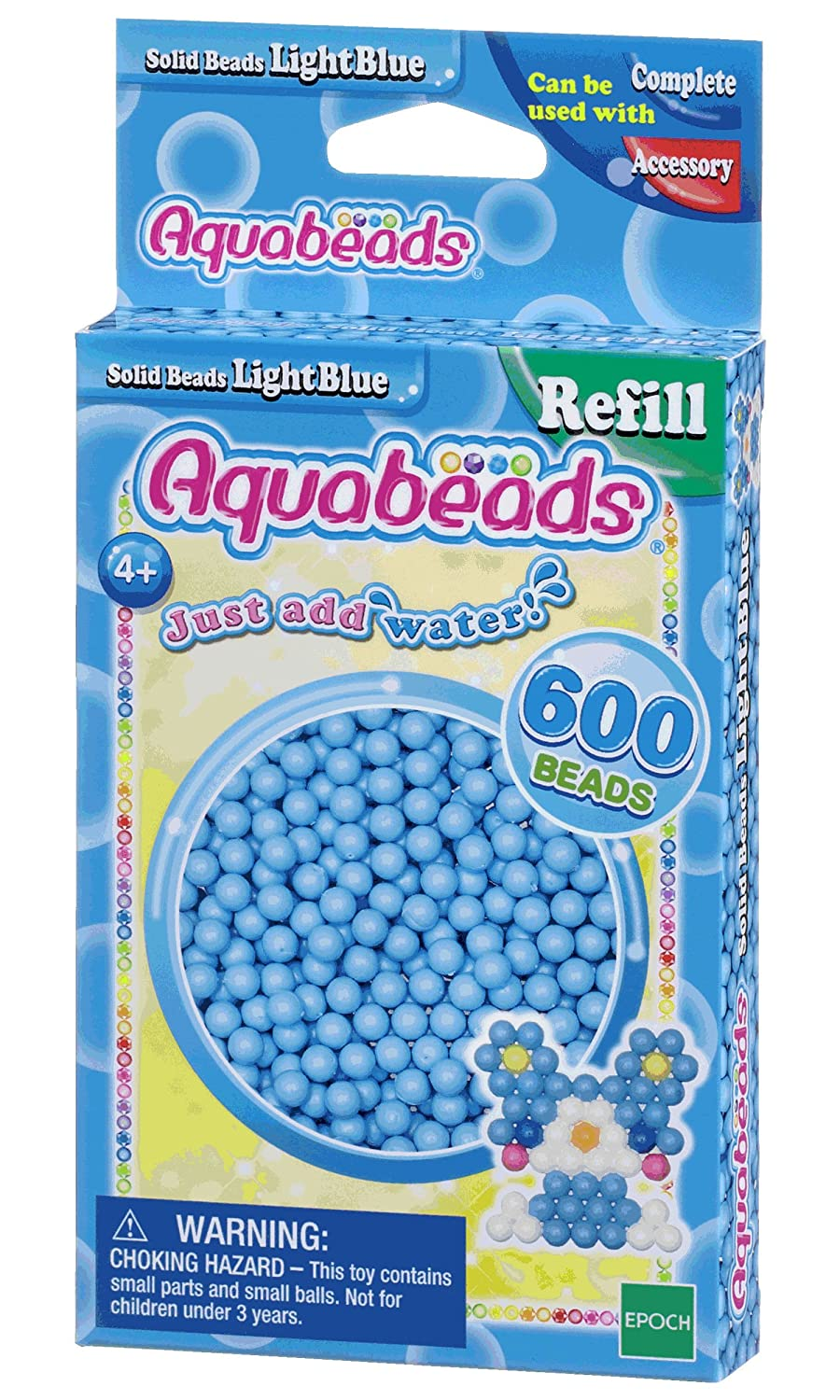 Aquabeads Solid Bead Refill Pack, Pink International Playthings AB32588
