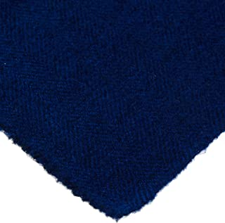 """product image for Weeks Dye Works Wool Fat Quarter Herringbone Fabric, 16"""" by 26"""", Lapis"""