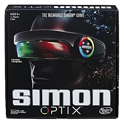 Hasbro Gaming Simon Optix Game: Toys & Games