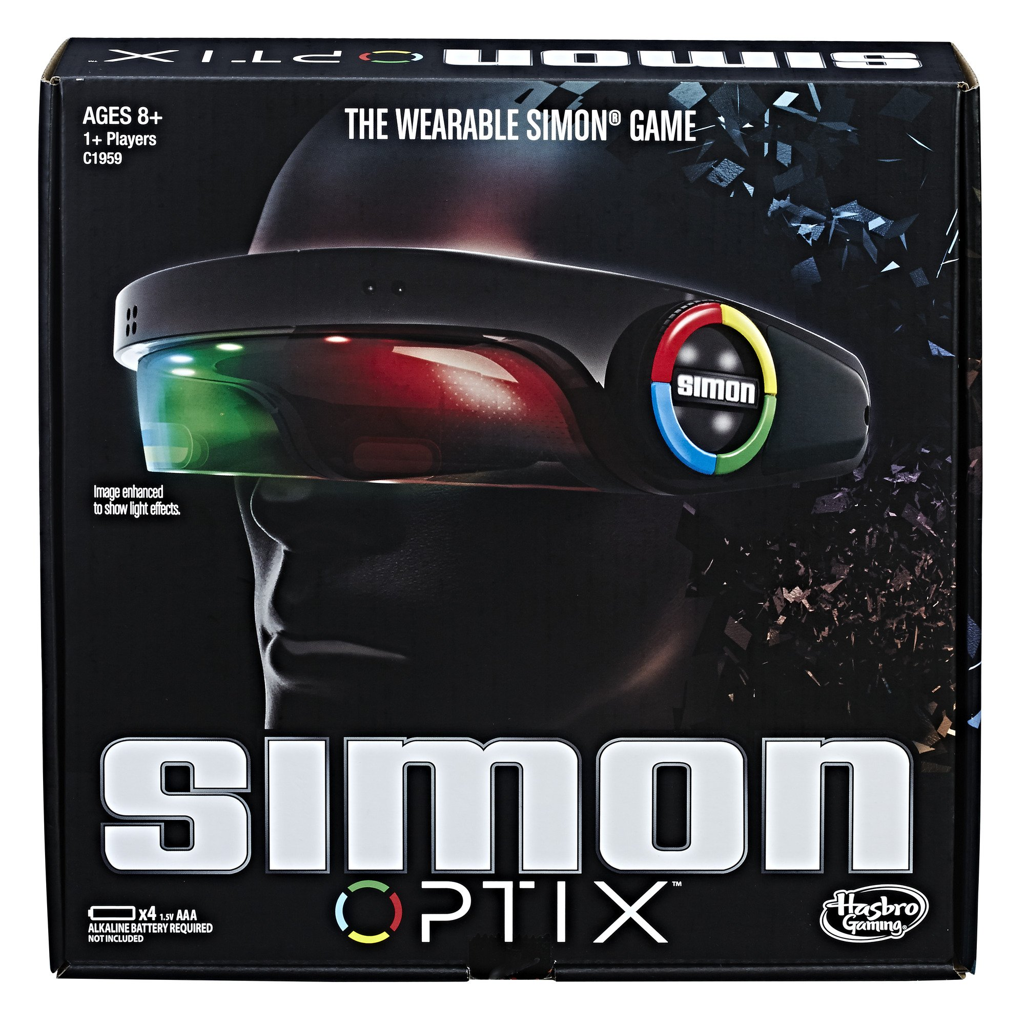 Hasbro Gaming Simon Optix Game by Hasbro Gaming