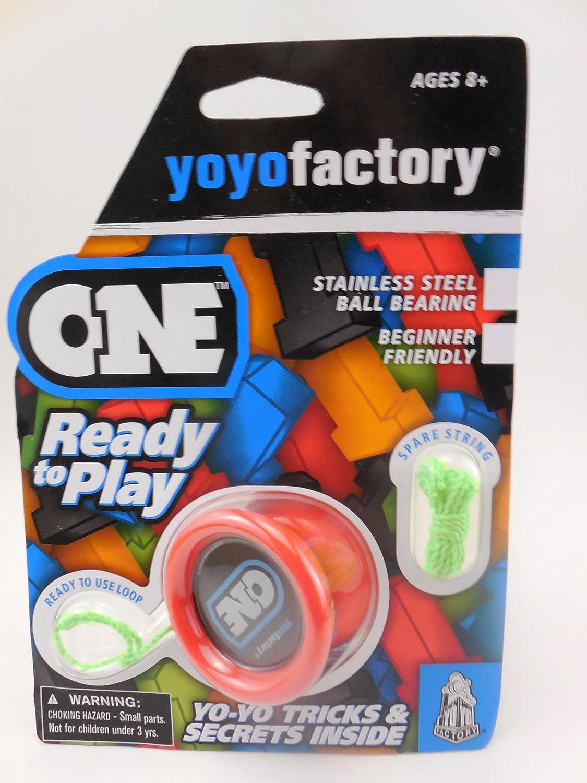 YoYoFactory ONE Ball Bearing YoYo - rot by YoYoFactoryB00C7Z1RJEYo-YosSmart     | Trendy
