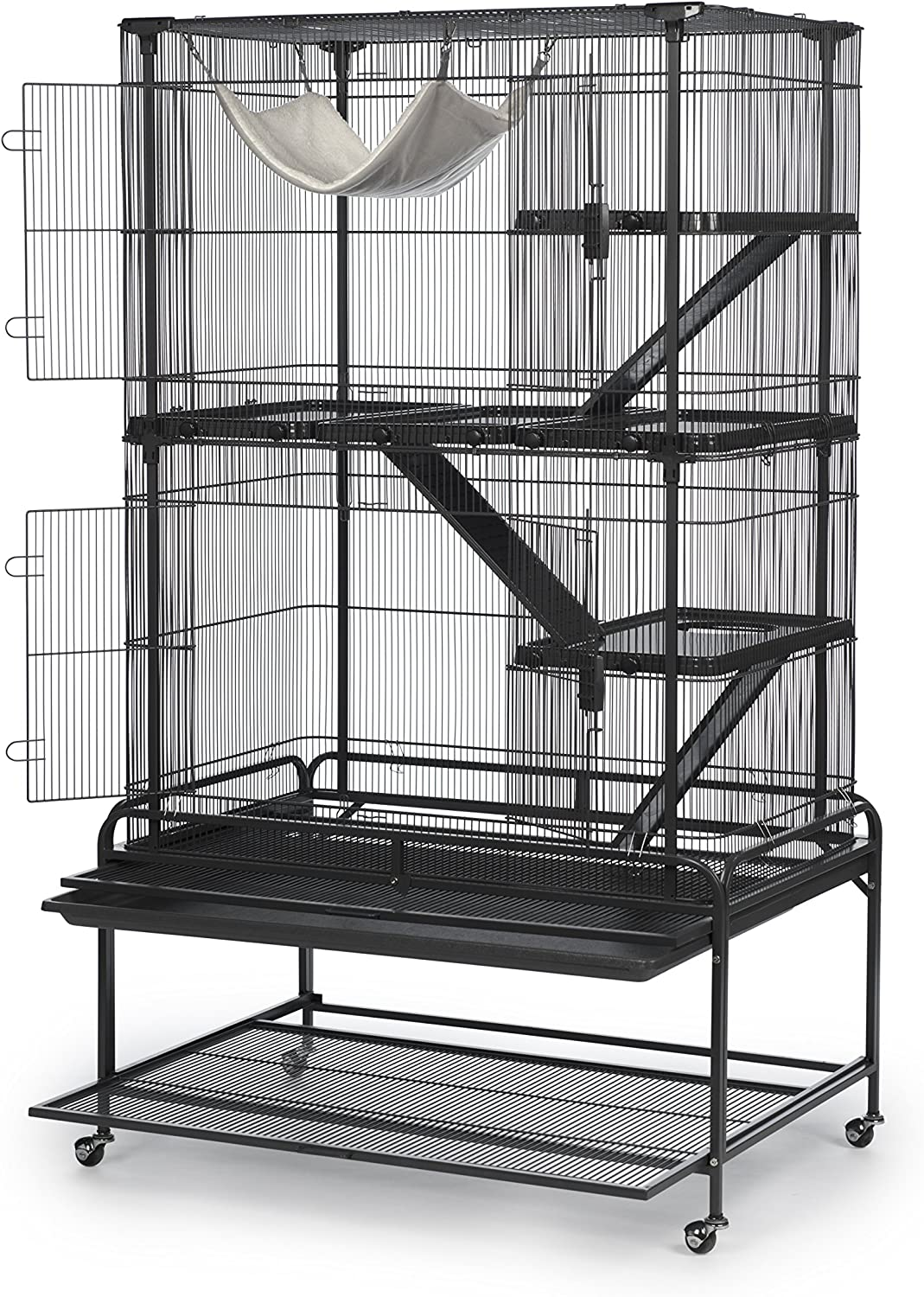 Dark Gray Prevue Pet Products 484 Deluxe Critter Cage