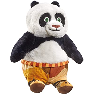 Schmidt Spiele 42716 DreamWorks Kung Fu Panda Plush Toy Po 25 cm, Colourful: Toys & Games