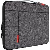 """iCozzier 13-13,3 Zoll Laptoptasche mit Griff tragbare Laptoptasche Sleeve Hülle Schutztasche für 13"""" Macbook Air/ MacBook Pro / Pro Retina Sleeve – Dunkelgrau"""