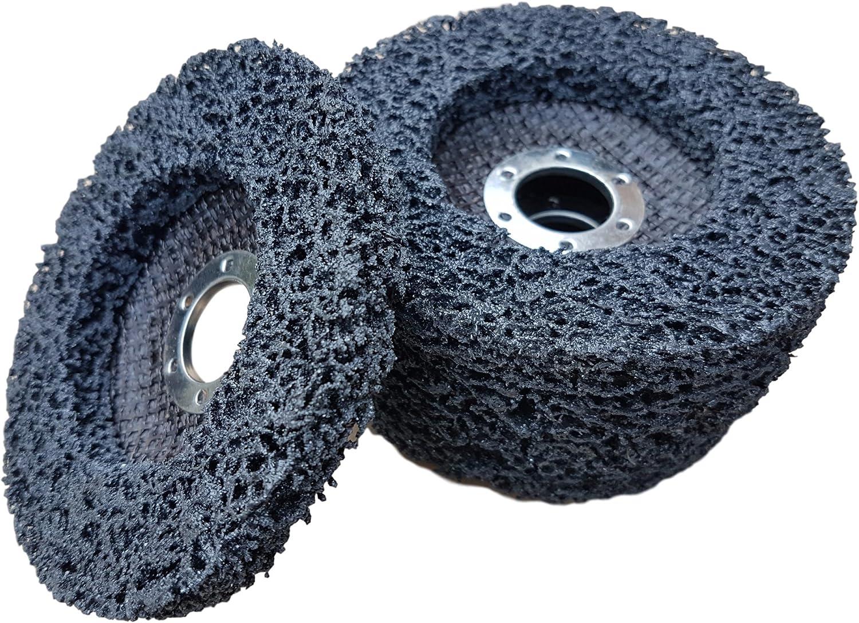 5 stk Fächerscheibe Schleifscheiben Reinigungsscheibe für Winkelschleifer 100 mm