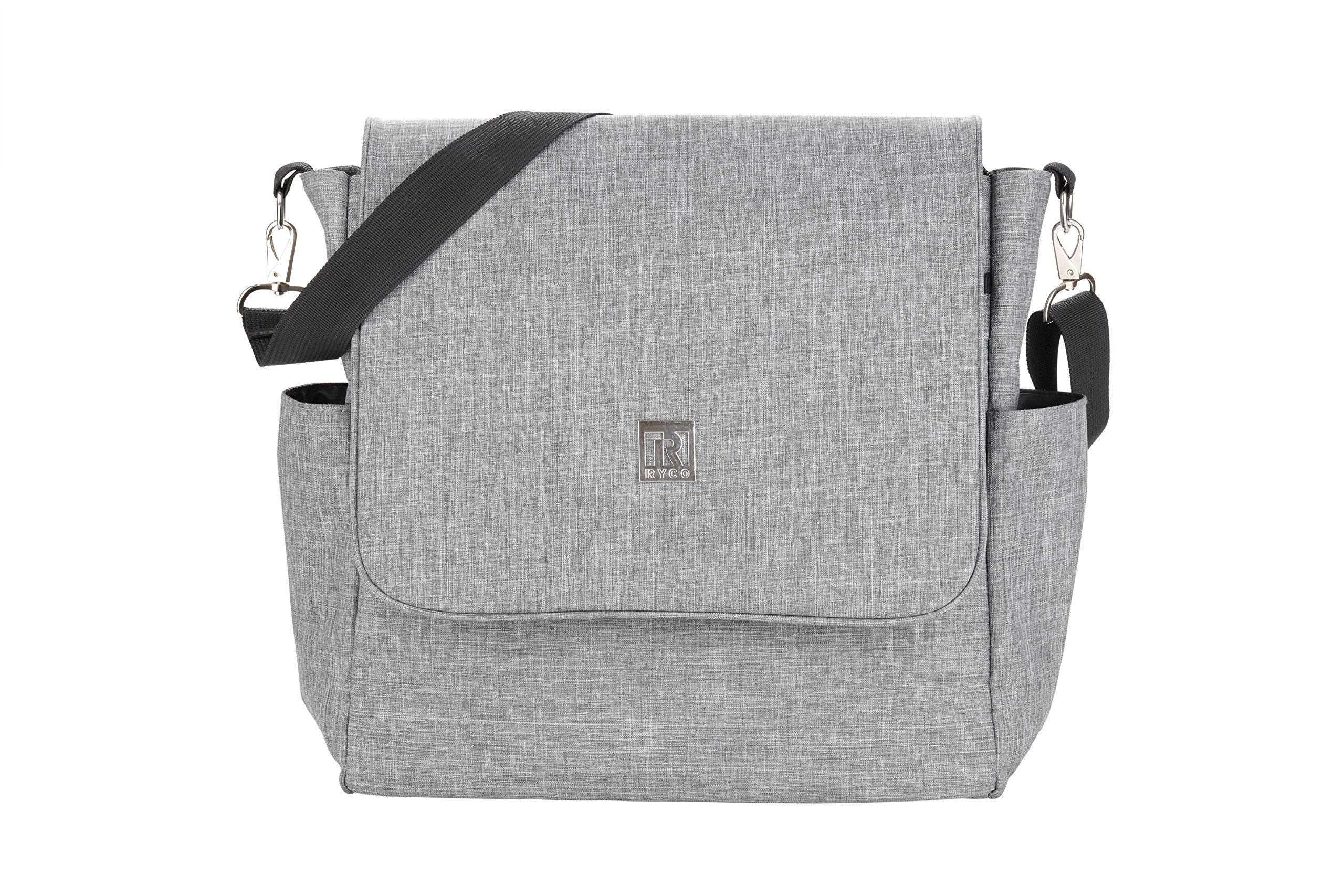 Ryco 2-in-1 Backpack/Messenger Diaper Bag (BNB)- Grey