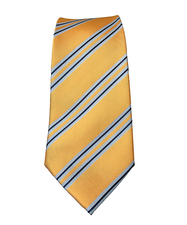 Silver and Black Tie Patterned Handmade 8cm 100/% Silk Necktie UK Seller