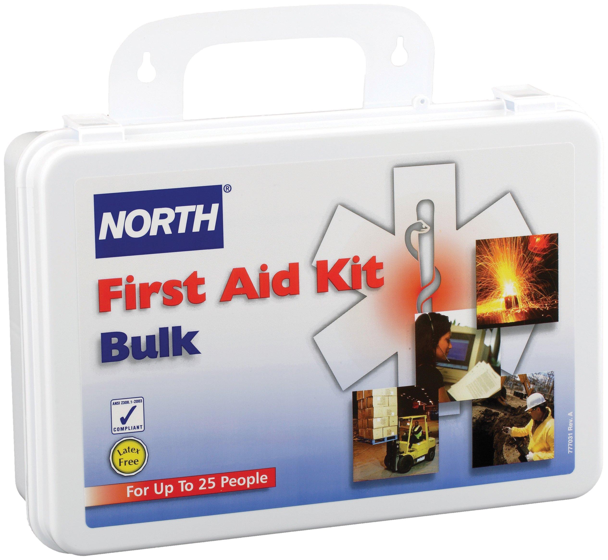 North by Honeywell 019702-0002L 25 person Kit, Bulk, Plastic