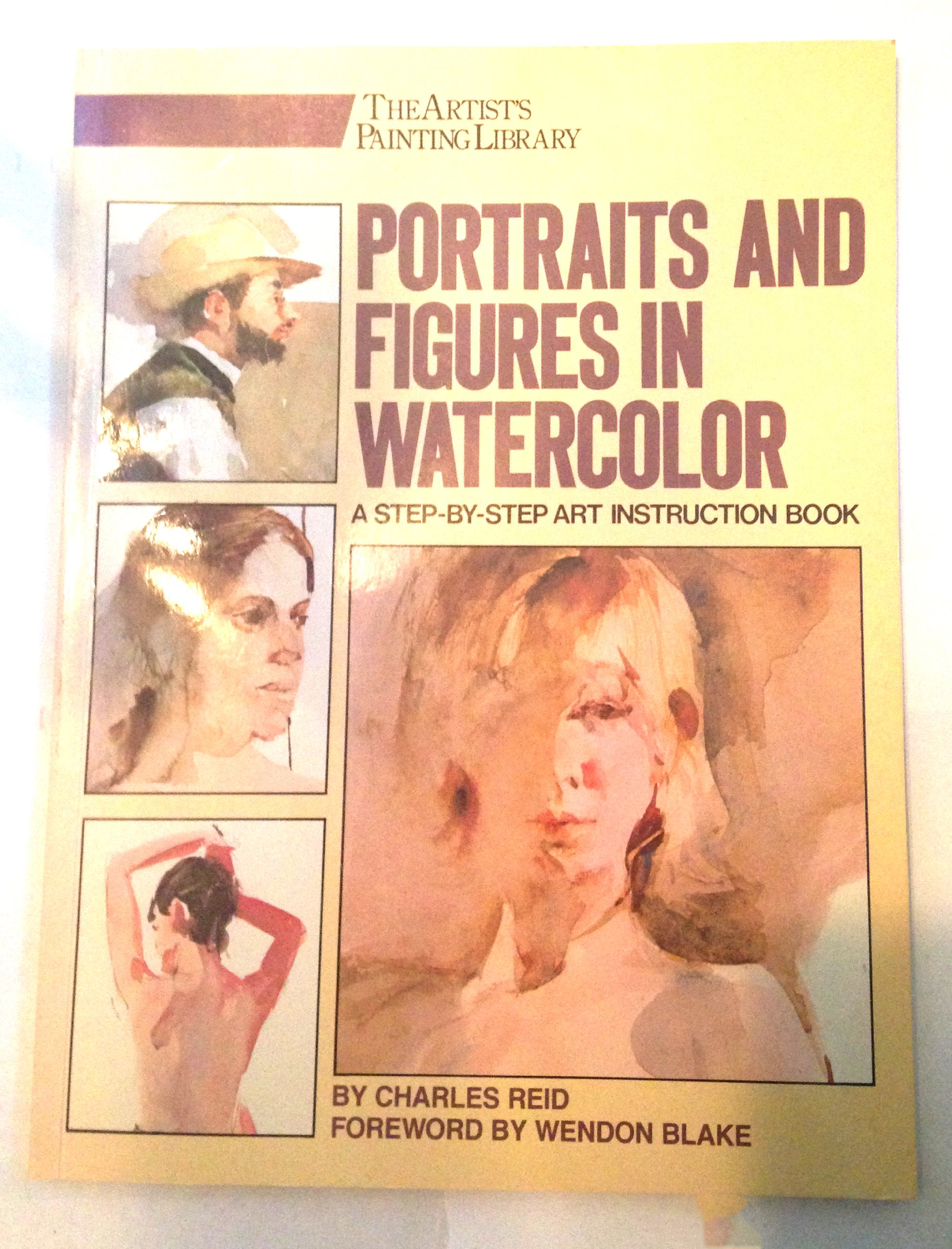 Portraits Figures Watercolor Artists Painting