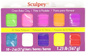 Polyform Products Sculpey III Multipack