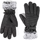 accsa Women Winter Ski Glove Waterproof 3M Thinsulate Warm Windproof