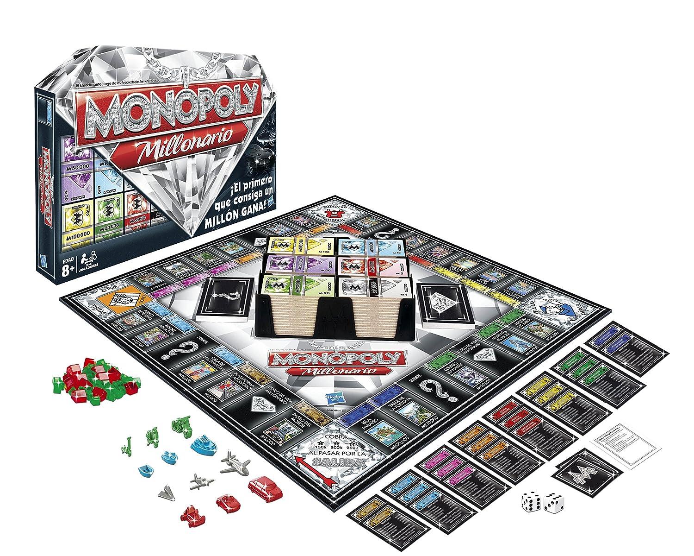 Monopoly Hasbro Gaming Millonario (98838105)
