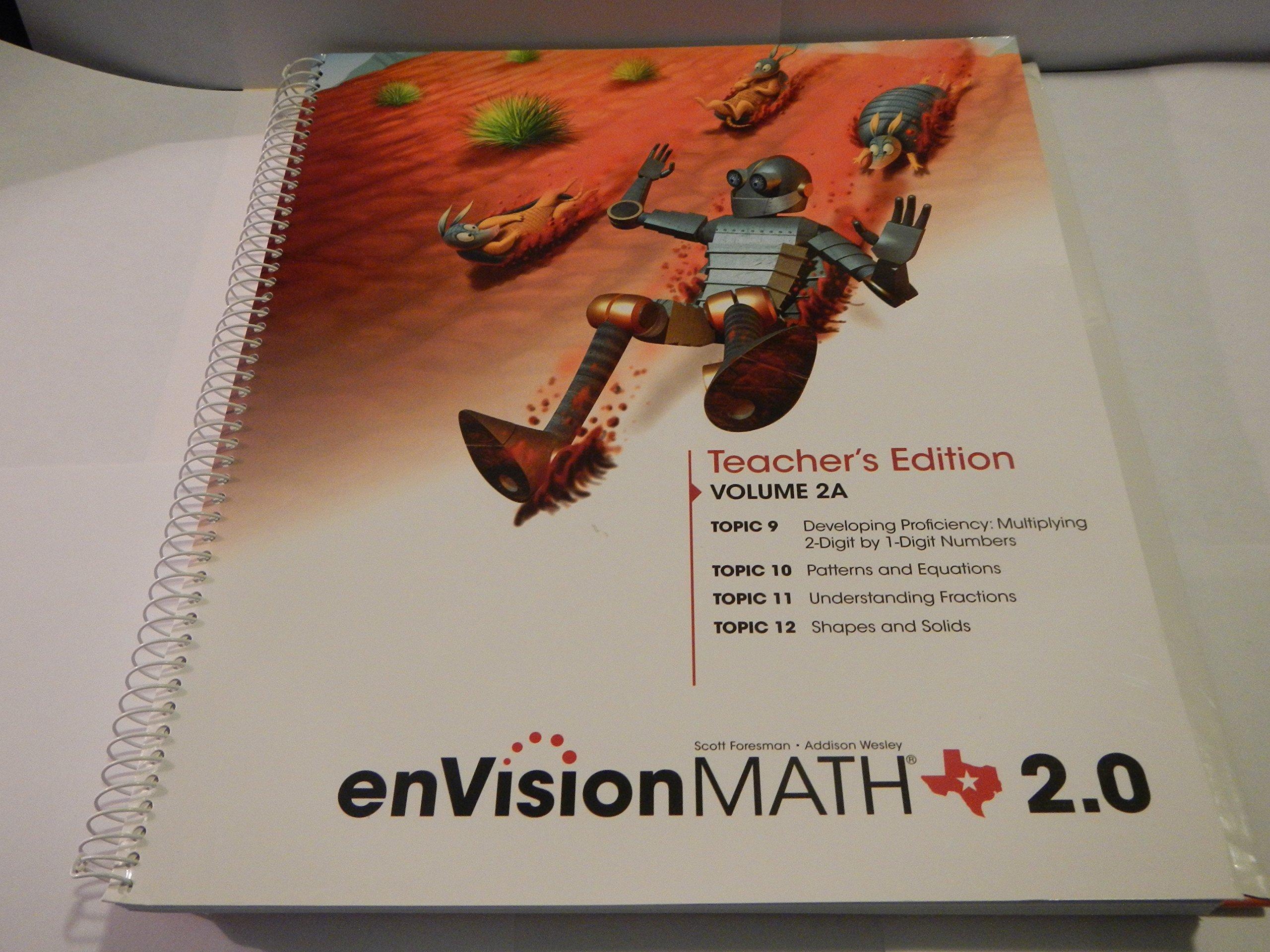 Download envision math Texas Grade 3 Teacher's Edition Volume 2A pdf epub