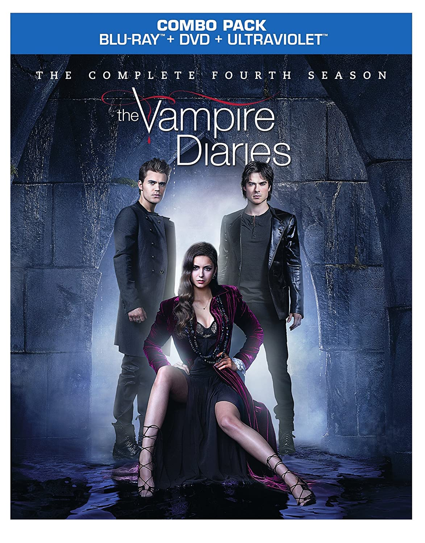 Vampire Diaries: Complete Fourth Season Reino Unido Blu-ray: Amazon.es: Dobrev, Nina, Somerhalder, Ian, McQueen, Steven R., Graham, Katerina, Accola, Candice, Plec, Julie, Dobrev, Nina, Somerhalder, Ian: Cine y Series TV