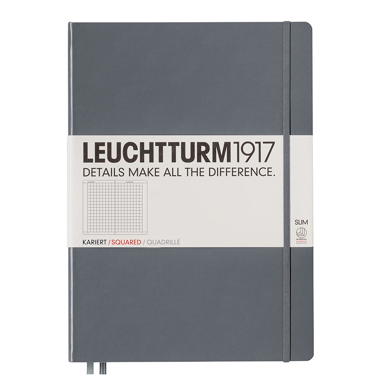Verde Cuaderno fino A4, de puntos 121 paginas Army dise/ño de lunares Leuchtturm1917 Master Slim