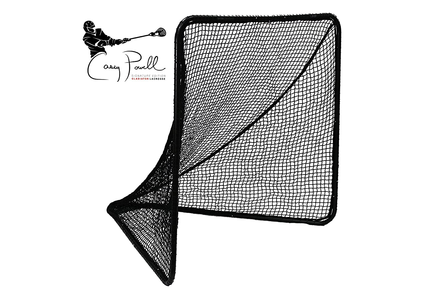 amazon com gladiator official lacrosse goal net casey powell