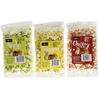 Little Friends Banana/Cherry/Apple Assorted Animal Popcorn, Small, Pack of 3