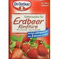 Dr. Oetker - Gelierzucker für Erdbeerkonfitüre Azúcar Gelificante