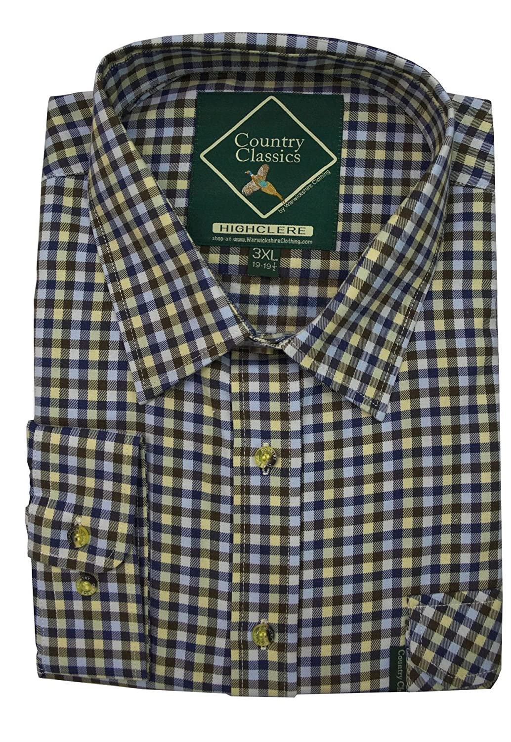 Country Classics Mens Short Sleeve Check Shirts SSCCMLS